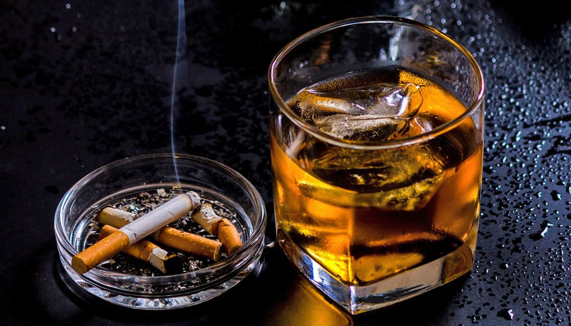 berhenti merokok dan konsumsi alkohol