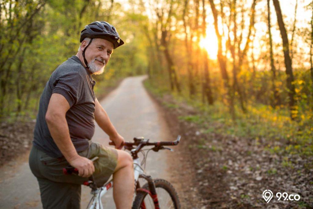 olahraga sepeda hindarkan penyakit kardiovaskular