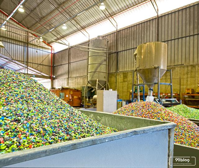 bisnis pengolahan plastik