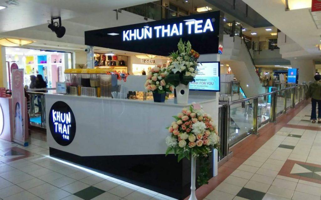 ide bisnis waralaba Khun Thai Tea