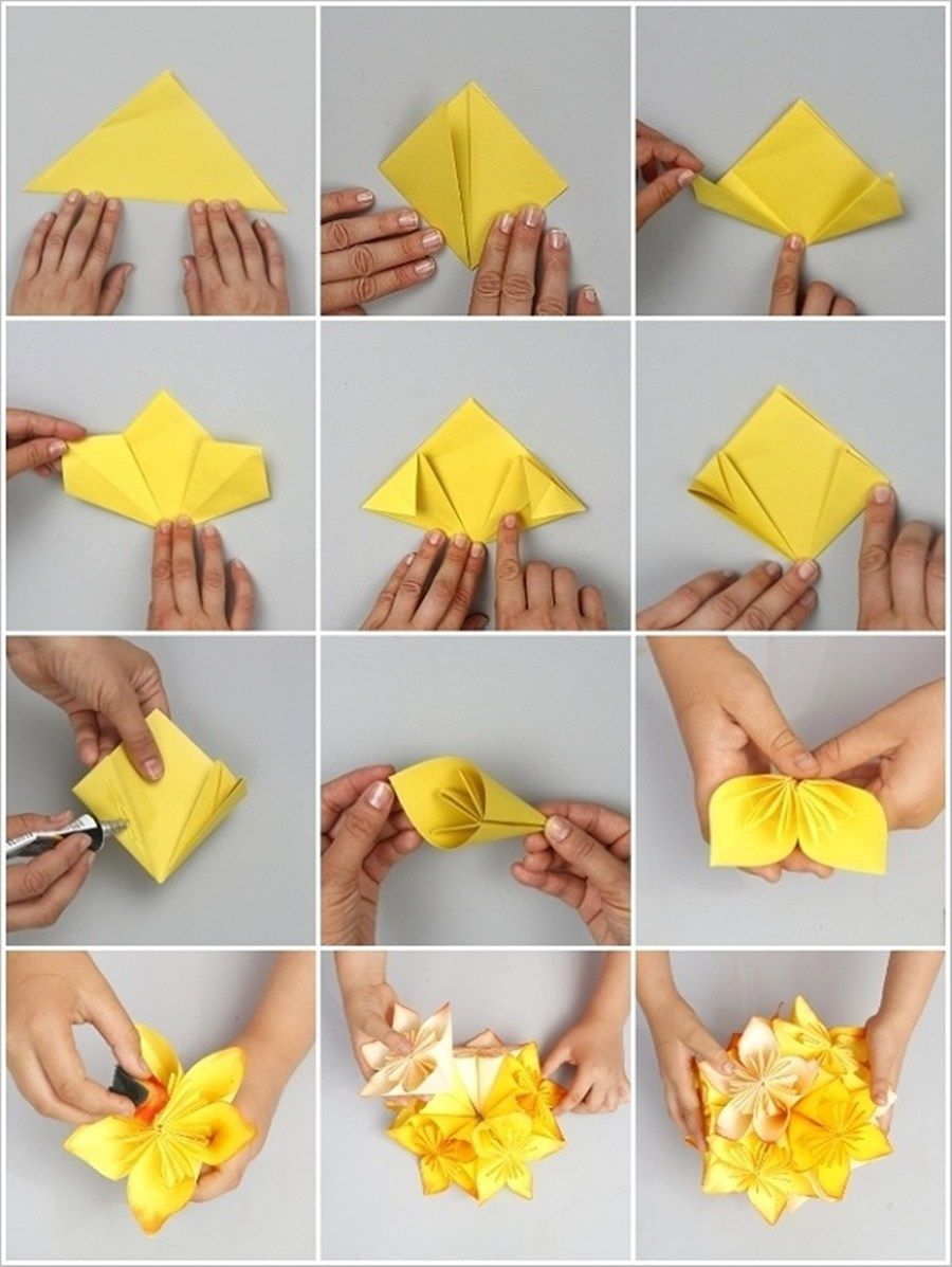 8 Cara Membuat Hiasan Dari Kertas Origami Hemat Bujet Cantik Hiasan dari kertas origami