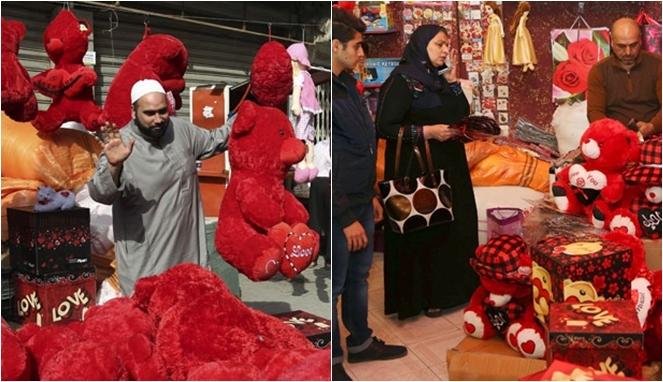 valentine di arab saudi
