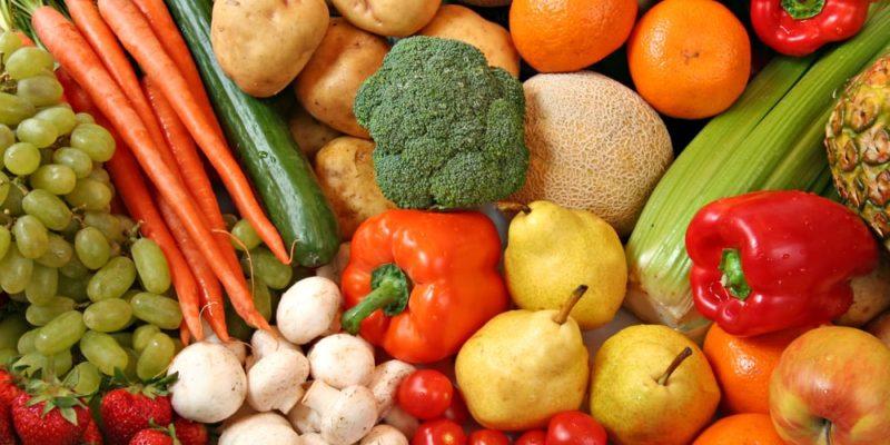 buah sayuran sumber gizi vitamin