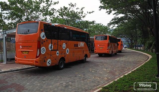 Bus ke BSD dari Jakarta dengan Tarif Murah | Jadwal dan Tarif Trans BSD
