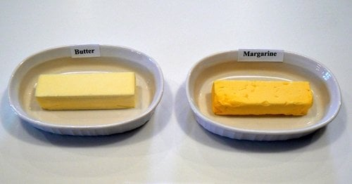 butter dan margarine