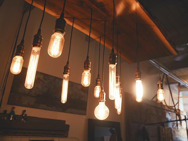 cahaya lampu