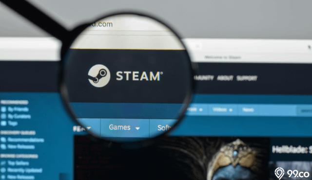 cara beli game di steam