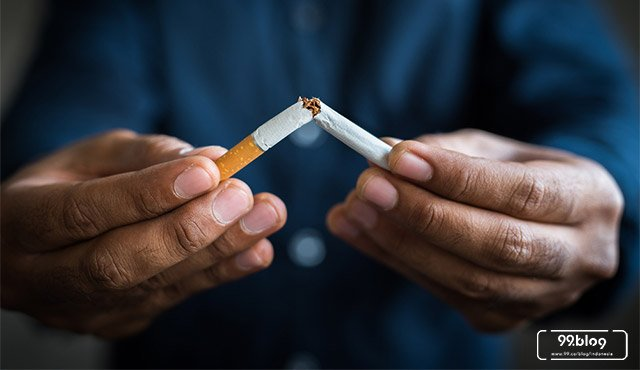 cara berhenti merokok