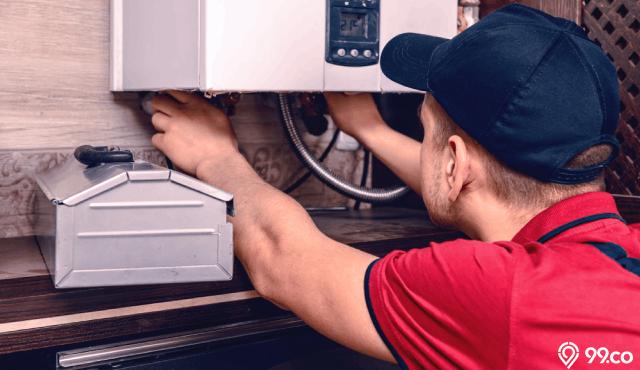 Cara Kerja Water Heater Gas Dan Perbedaannya Dengan Model Listrik