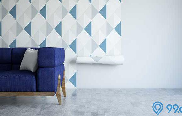 cara melepas wallpaper dinding