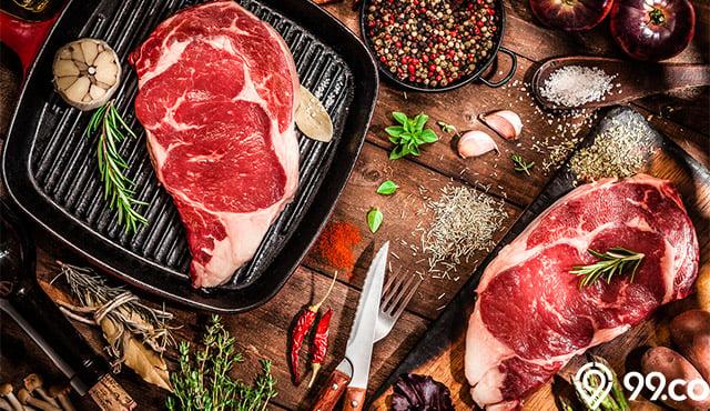 cara memasak daging