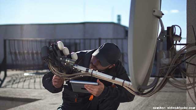 cara memasang parabola