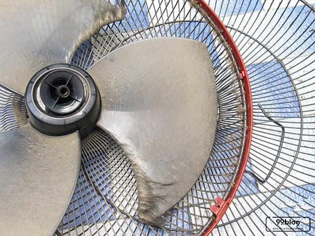 cara membersihkan kipas angin