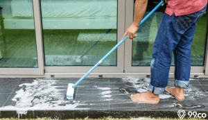 cara membersihkan lantai granit yang kusam