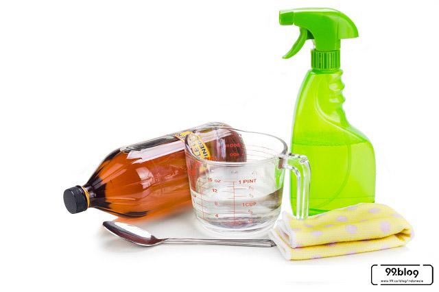 cara membersihkan noda minyak