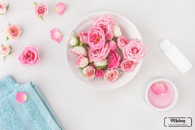 cara membuat air mawar