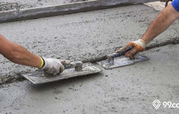 cara membuat dak beton sendiri