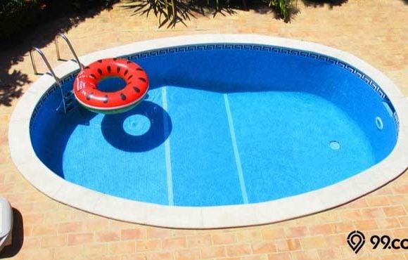 cara membuat kolam renang