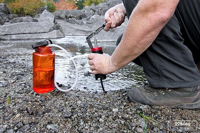cara membuat saringan air