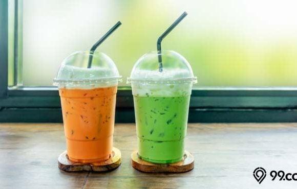 cara membuat thai tea rendah kalori