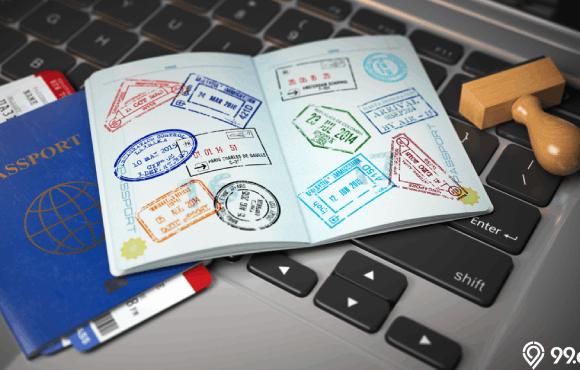 cara membuat visa online