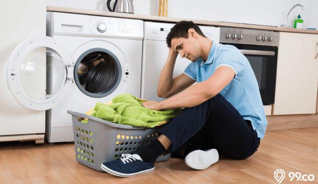 cara memperbaiki pengering mesin cuci rusak