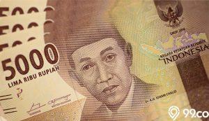 gambar uang 5000 rupiah