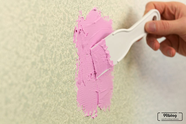 cara menambal dinding bolong
