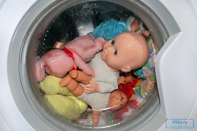 cara mencuci boneka