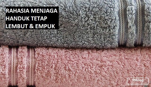 cara mencuci handuk