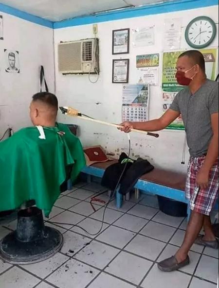 cara mencukur yang baru