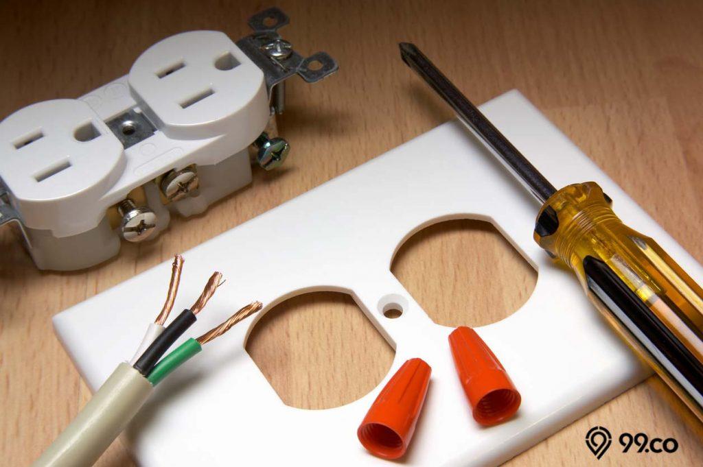 cara mencegah korsleting listrik