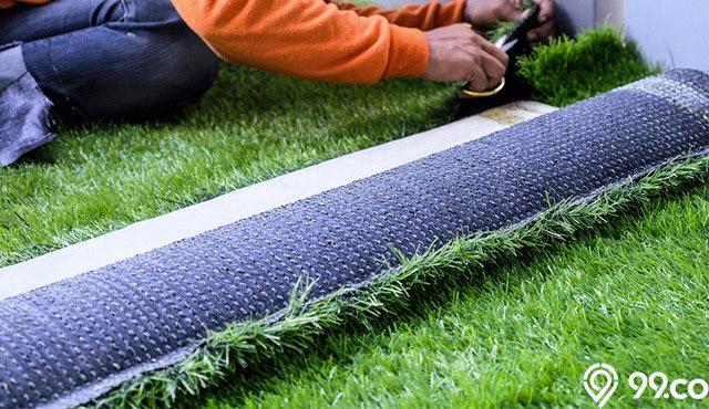 rumput sintetis meteran