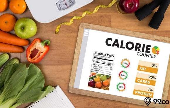 cara menghitung kalori makanan