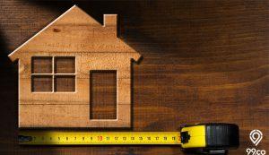 cara menghitung luas bangunan