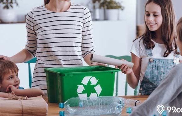 cara mengurangi limbah rumah tangga