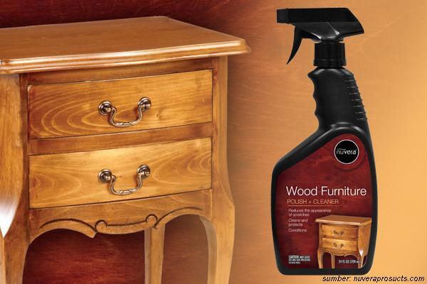 cara merawat lemari kayu