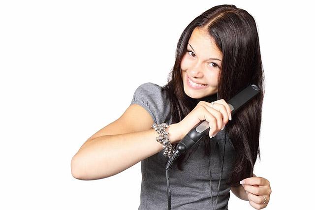 catokan rambut mencatok rambut