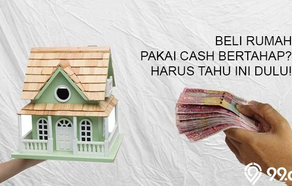 cash bertahap rumah