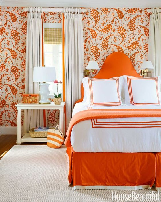 inspirasi warna orange