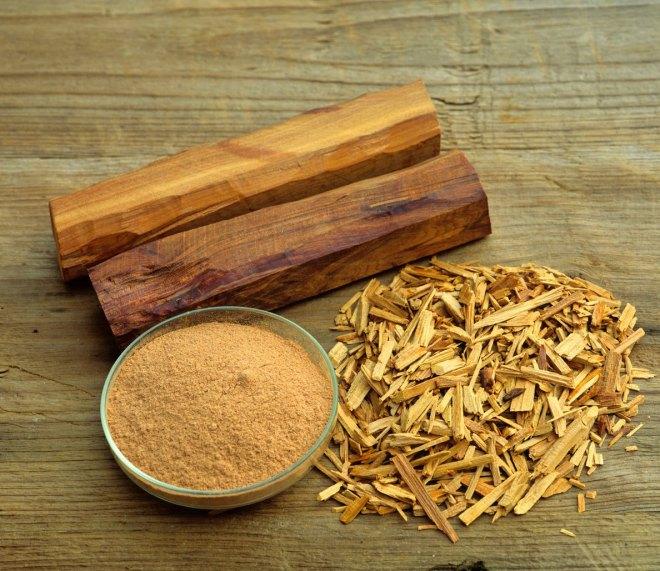 ciri ciri kayu cendana asli