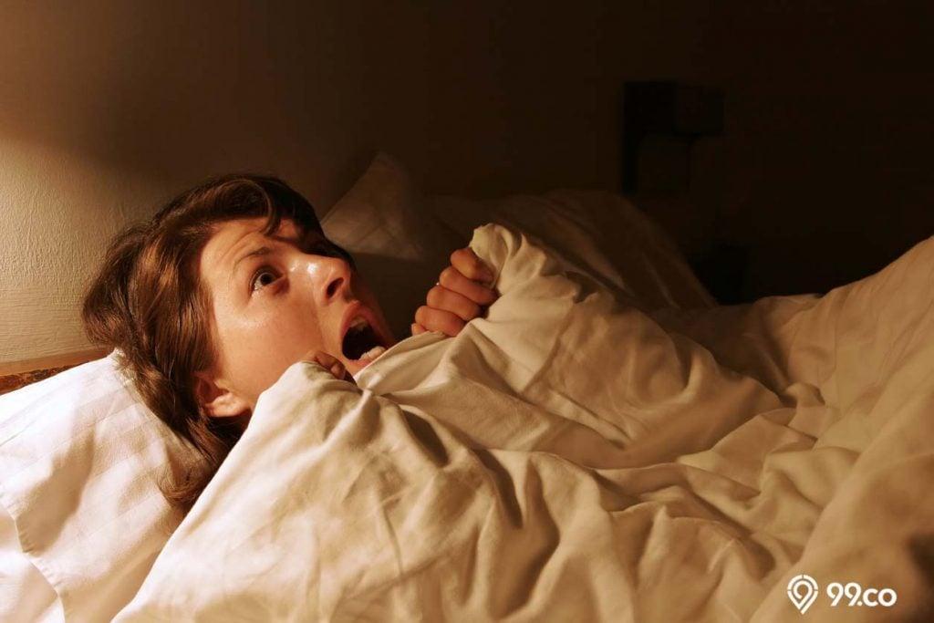 di rumah ada gangguan jin saat tidur