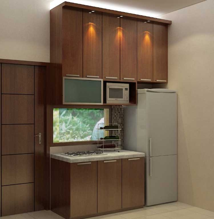 contoh kitchen set