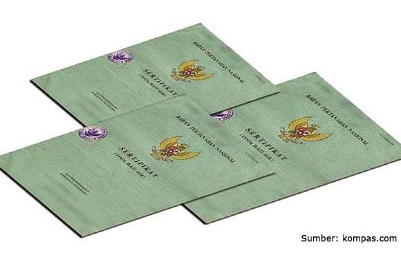 ragam contoh sertifikat tanah