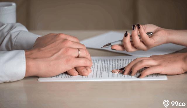 Contoh Surat Cerai Yang Baik Benar Serta Sah Di Mata Hukum