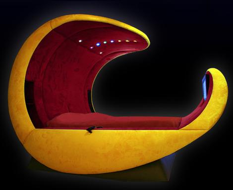 tempat tidur unik