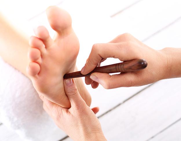 titik refleksi kaki