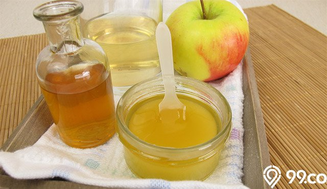 cuka apel baik untuk tenggorokan