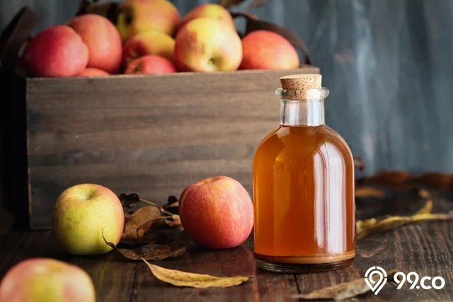 cara mengatasi tenggorokan gatal menggunakan cuka sari apel
