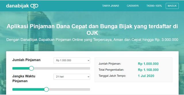 7 Aplikasi Pinjaman Online Terbaik Yang Aman Legal Dan Diawasi Ojk